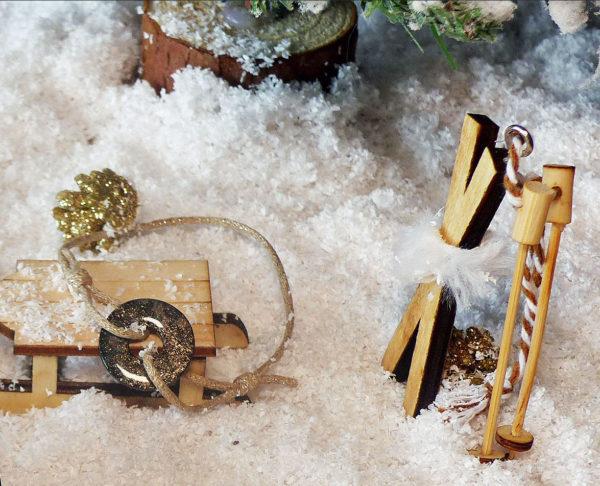 Bracelet kordon poudre d'or