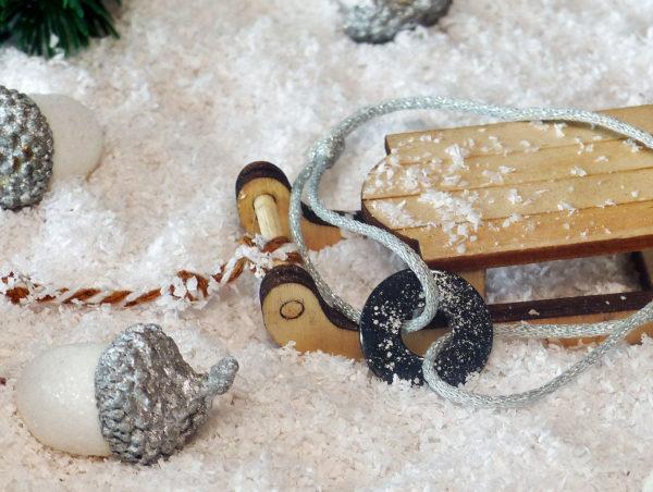 Bracelet poudre d'argent